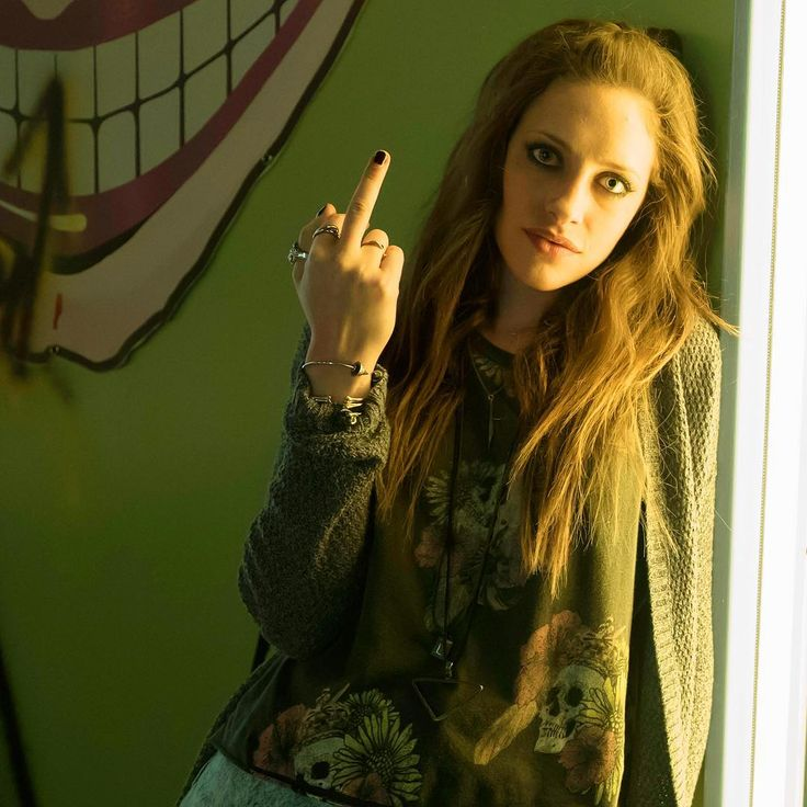"Mr. Robot: ""She's really the character I've always wanted to play. She's very interesting and fun, and has very strong viewpoints and beliefs. She's very passionate and strong-willed, but at the same time, she definitely has a lot of layers and vulnerability behind her."" -- #carlychaikin (Darlene). The revolution continues with an all-new episode of #MrRobot. Wednesday. 10/9c. USA Network."