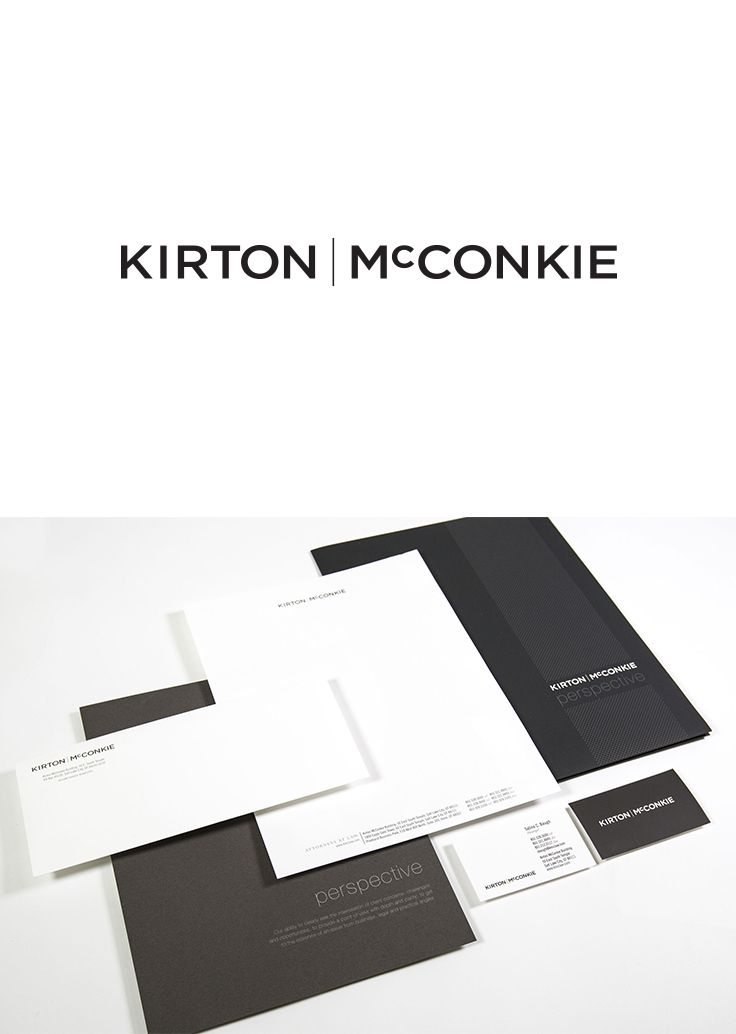 Kirton McConkie Logo Design & Visual Identity #epicmarketing #logo #visualidentity #stationary