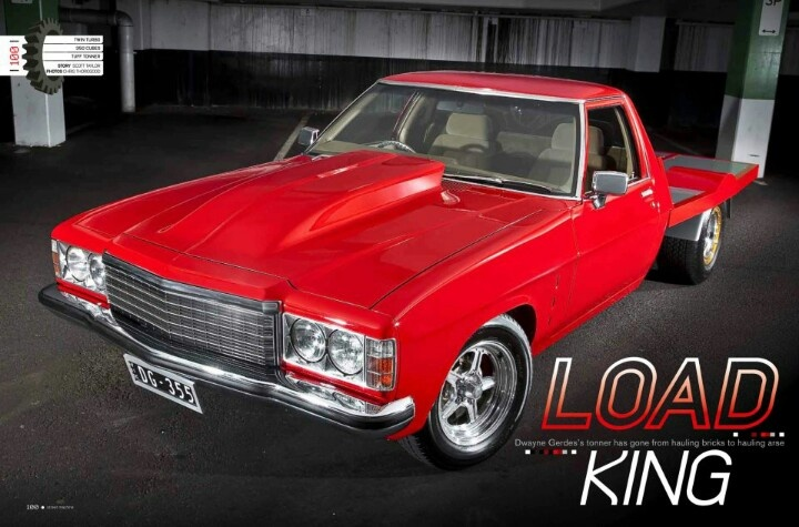 Twin Turbo Holden One Tonner