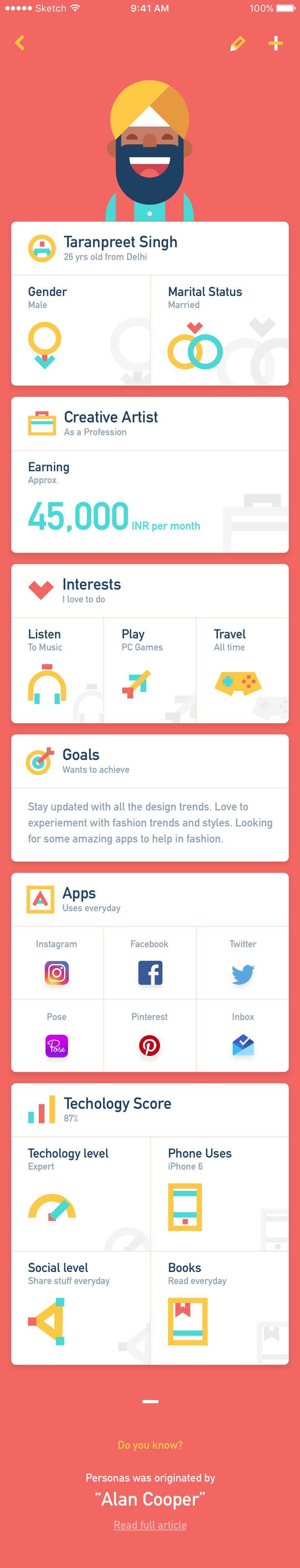 Persona App – iOSUp