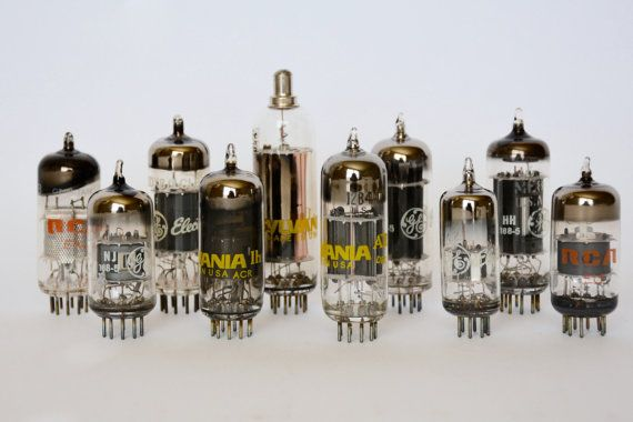 10 Electronic Vacuum Tubes Electronic Parts Industrial