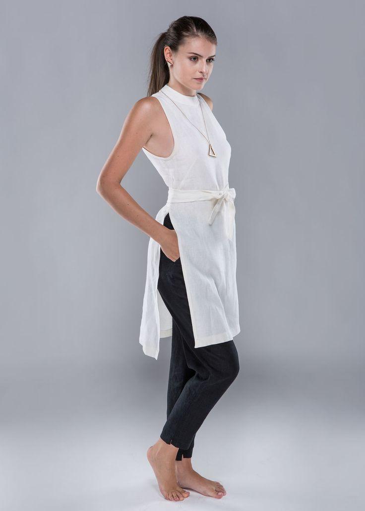 All about hemp tunic dress - 100% hemp
