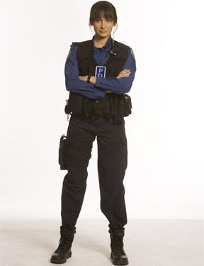 Nicole Da Silva in Rush. Now I need to see this too! I wonder which side of the law I'll prefer her on.