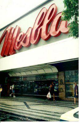 Lojas MESBLA | VELHARIAS – Anos 70, 80 e 90…