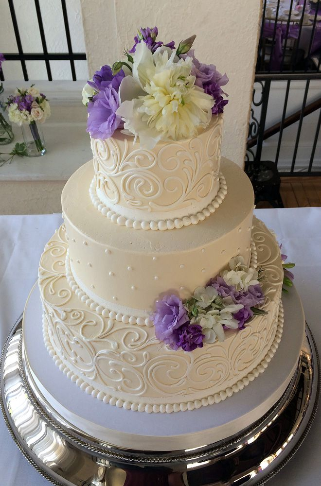 How Much Is A  Tier Buttercream Wedding Cake