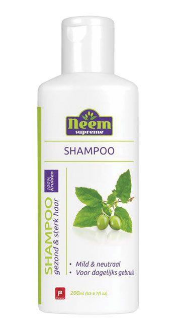 Neem Supreme shampoo Tulsi 200 ML  Description: Neem Shampoo is bereid met Neem (Azadirachta indica) en Tulsi (Ocimum sanctum). Gewone shampoos bevatten chemische toevoegingen die de haargroei op lange termijn bemoeilijken. Neem Shampoo bevat alleen natuurlijke ingrediënten. De shampoo is goed voor de hygiëne van de hoofdhuid en houdt het haar glanzend sterk en gezond. Combineer Neem Shampoo voor de beste resultaten met Neem Supreme Hair Vitaliser.Gebruiksaanwijzing:Breng de Neem Shampoo aan…