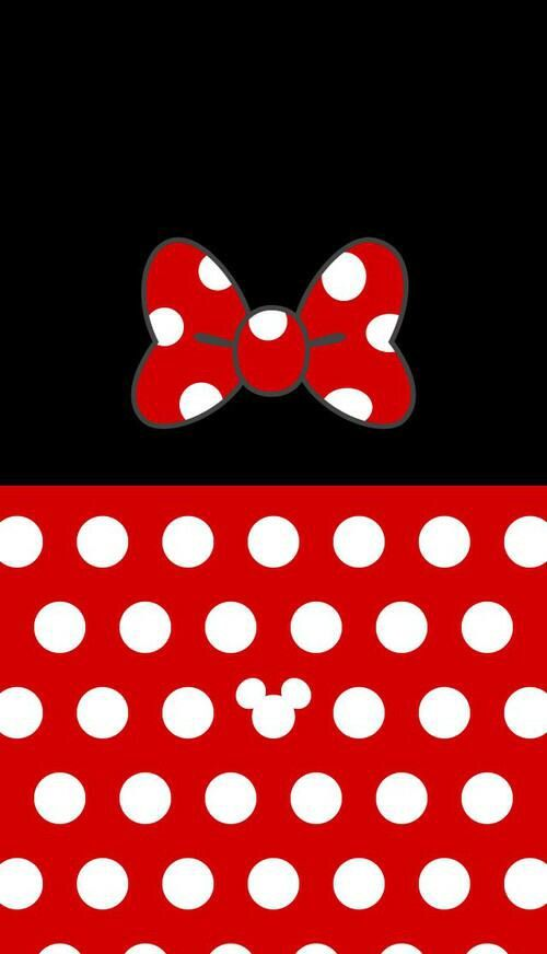 Red Minnie Mouse Wallpaper Clipart Panda Free Clipart Images