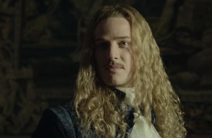 The brilliant & gorgeous Evan Williams as the Chevalier de Lorraine in season 2 of the canal+ series Versailles