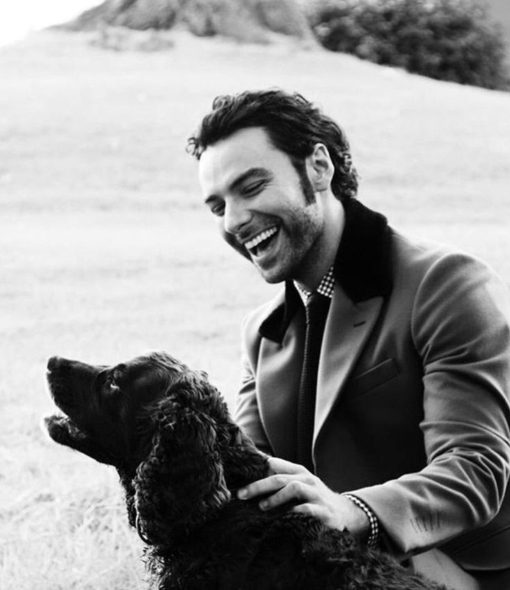 Handsome, Irish and he likes dogs. What more could a woman want? ❤