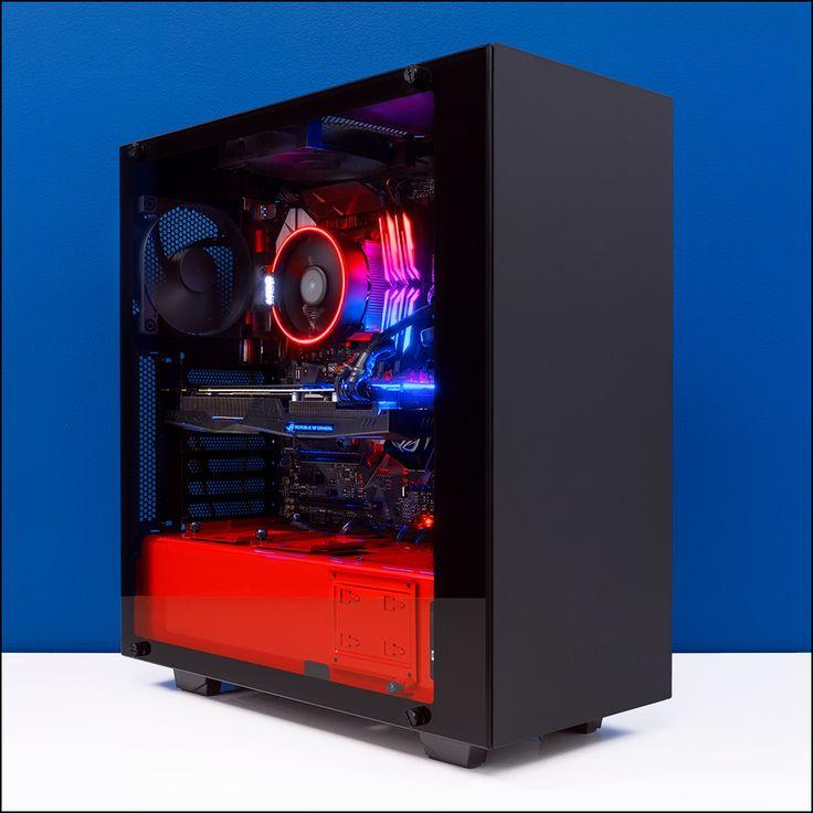 PCCG Ryzen Elite 1080 Gaming System [PCCG-RELITE10802] : PC Case Gear