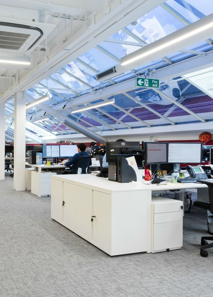 Blockbuster office design for amc networks