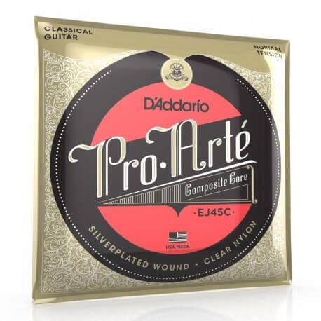 D'Addario Pro Arte Composite Core EJ45C tirant normal