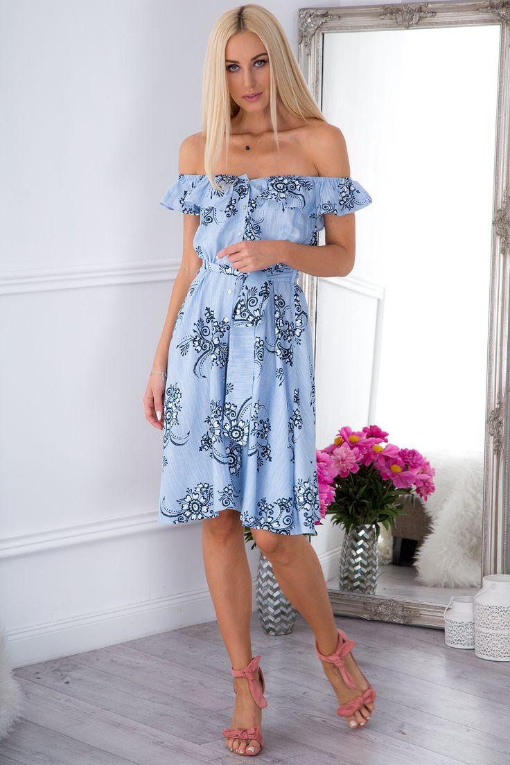 Niepowtarzalna sukienka na lato 21553
