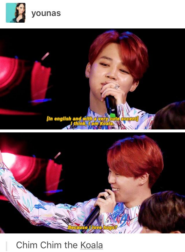 JIMIN everyone the great ruiner of bias lists, the jamless one and now the frickin sexy koala🐨