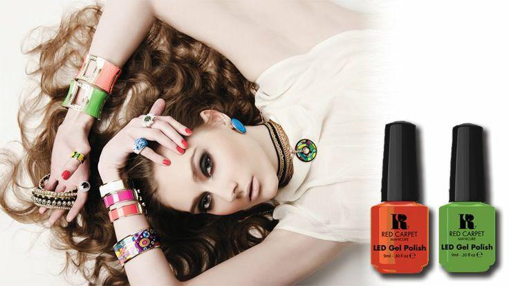 RedCarpetManicure #uñas #color #nails #art #esmalte #girls