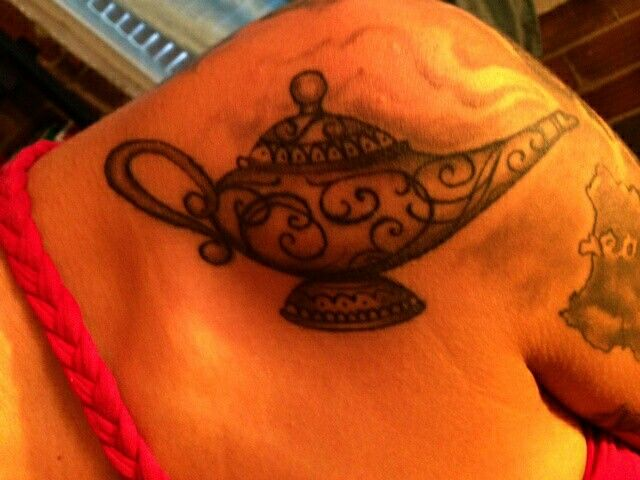 Genie lamp tattoo. 164 best I Dream of  Genie  images on Pinterest   Genie lamp