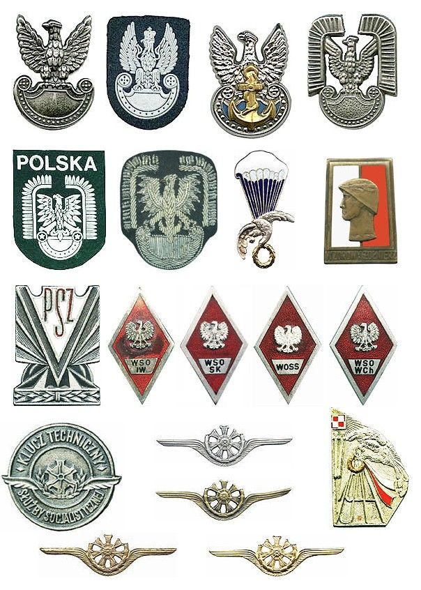 Polish military insignias from my collection