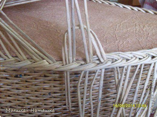 Поделка изделие Пасха Плетение Несколько плетушек + маленький МК Бумага газетная Трубочки бумажные фото 24