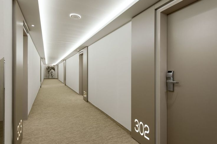 Lit house numbers + walkway lighting