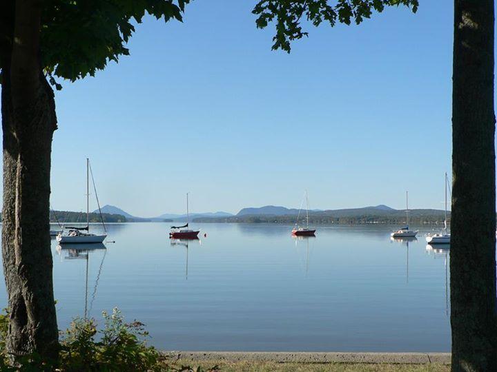 Magog, Lac Memphrémagog, Québec