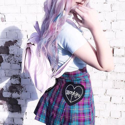 17 best images about pastel goth fashion on pinterest