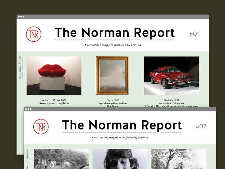The Norman Report - Aurora Biancardi - tipiblu.com