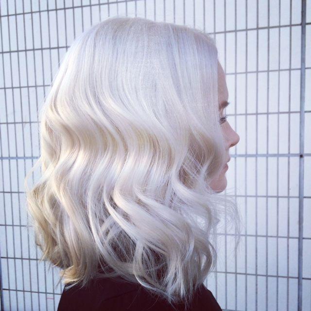 My work www.kutritamminen.fi #paperwhite #whitehair #blondehair