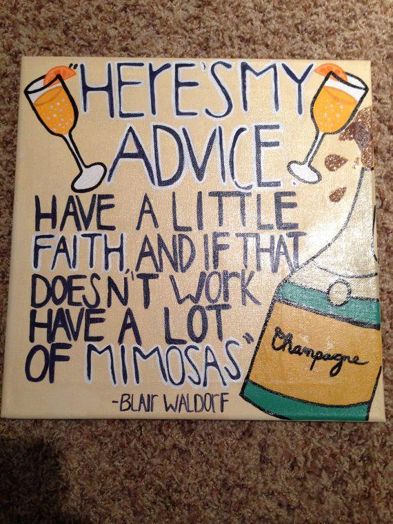 Gossip Girl Mimosa Quote
