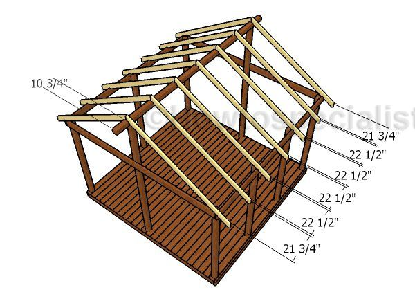 how to build a 12x12 lean to