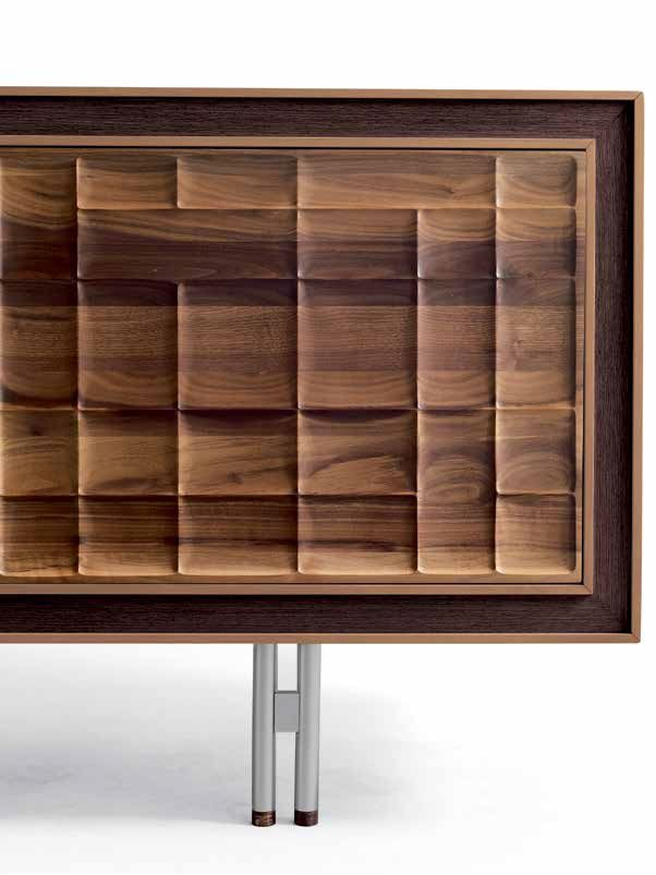 Wooden sideboard with doors A-113 by Dale Italia | design Arbet Design