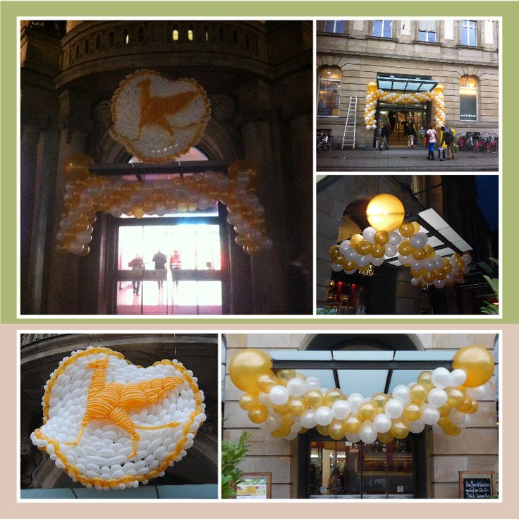 Ballon Dekoration mit toller Knot-arbeit von Peter Sersch - Es war Klasse!!