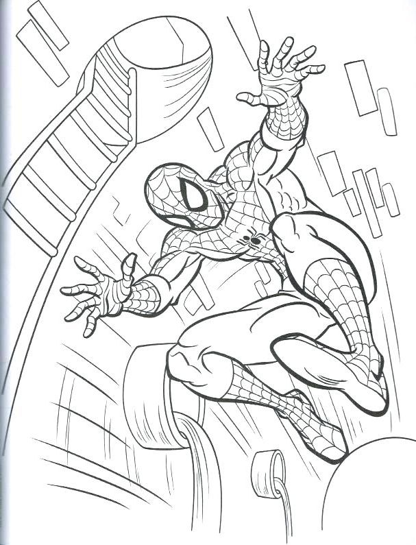 Marvel Coloring Book | Coloring Page | Marvel coloring ...