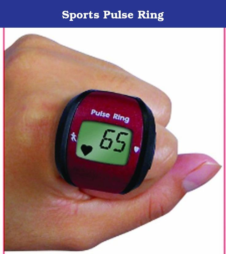 Sports Pulse Ring. Get your pulse rate fast & easy * 3-in-1 Function: 1. Pulse Rate 2. Stopwatch 3. Clock * For sports & fitness - non-medical use * This pusle ring is as unobrusive as a class ring and provides pulse readings without an uncomfortable chest strap * Just slide on your finger & display pulse reading on its LCD with the touch of a button * 5-second reaction * Continuous measurement display * Simple & user friendly * Comes with storage case and lanyard for holding convenience *.
