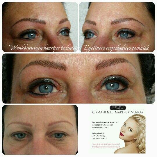 Eyeliners oogschaduw techniek door Nathalie Rozema, permanente make-up Venray.nl