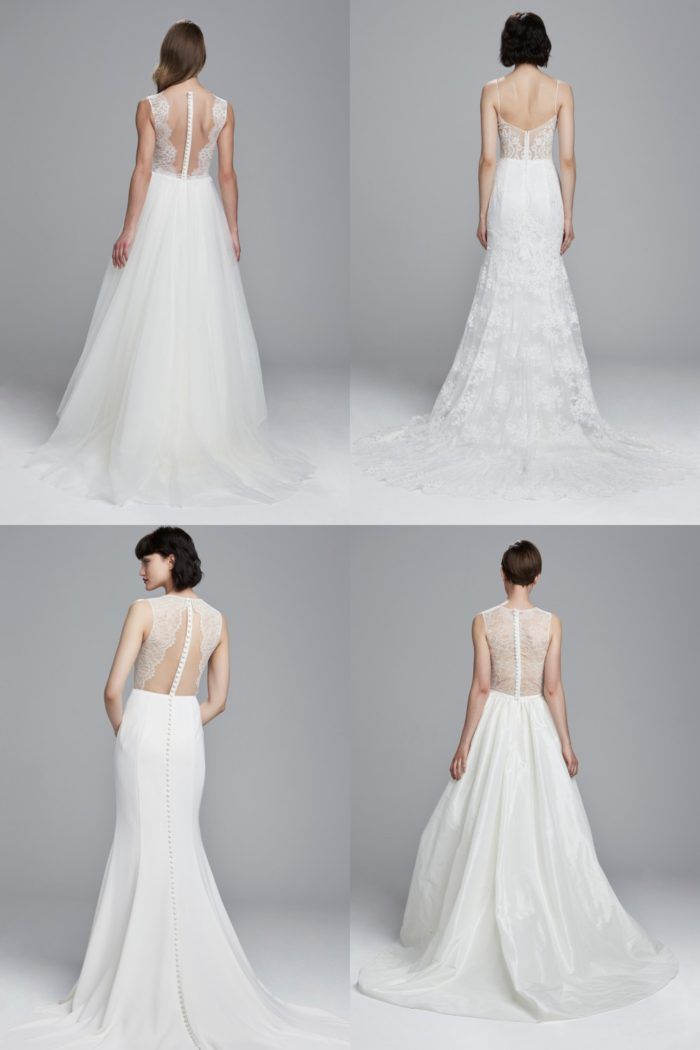 Spring 2017 Wedding Dresses with beautiful backs | nouvelle Amsale