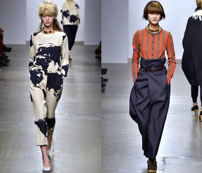 A Détacher 2013-2014 Fall Winter Womens Runway Collection - New York Fashion Week: Designer Denim Jeans Fashion: Season Collections, Runways, Lookbooks and Linesheets
