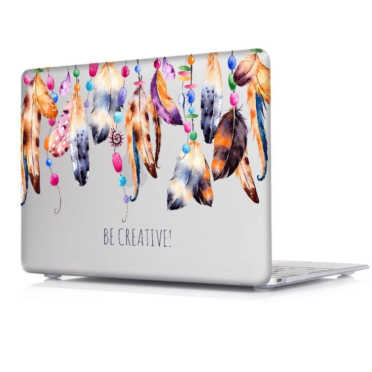 2016 Colorful Nice Fashion Color Print Cover Case For Apple Macbook Pro Retina 13 12 15 Air 11 Dream Catcher Pattern