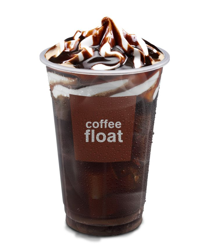 McCafe Coffee Float