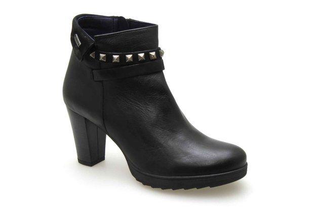 Boots DORKING 6086 Noir - Chaussures femme