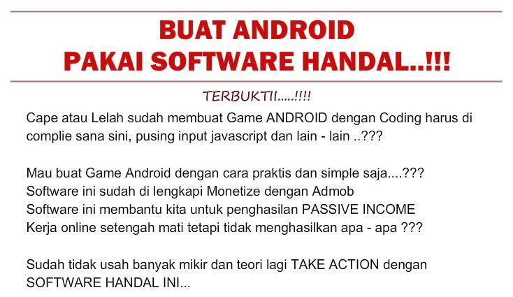 Ratakan - Produk Baru: App Game Android pakai Software Handal