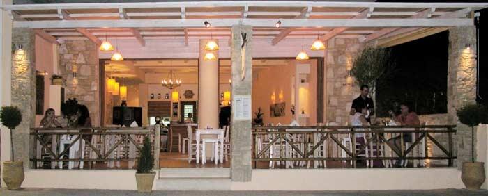Piato- the nicest restaurant in Crete.