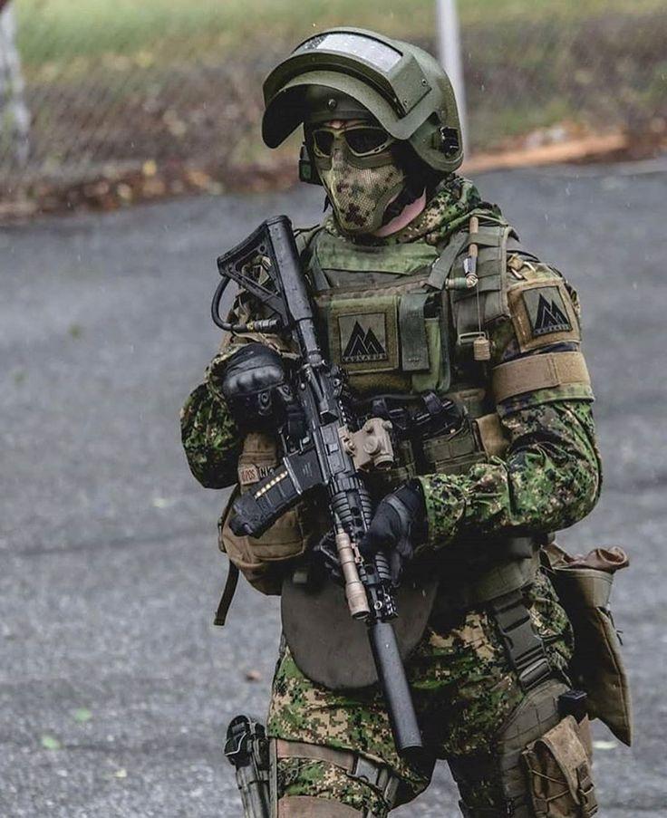 Фото военных спецназовцев