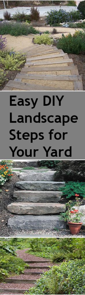 Backyard steps, DIY backyard steps, garden steps, landscape and yard, popular pin, outdoor entertainment, outdoor living, easy DIY outdoors/