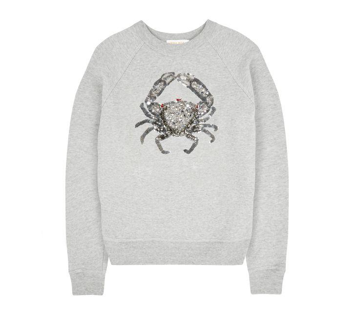 Uzma Bozai - Cancer Sweatshirt - Grey Marl  PRE ORDER