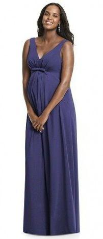 Purple Maternity Bridesmaid Dresses