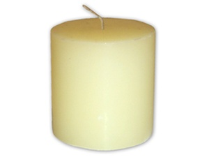 Geraniol with Citronella Pillar Candle -8 Pack