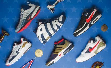 【7月4日発売予定】 ナイキ スポーツウェア リオ オリンピック 2016 コレクション。復活を遂げる名作スニーカーたち!リオ・オリンピック開幕を記念したスペシャルコレクションが発売へ。これまでにUSA代表のアスリートの足元を飾ってきた歴代のオリンピックモデルが復刻される。トリコロールカラーでまとめ、大きくシ...