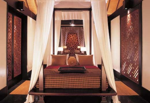 Balinese bedroom design