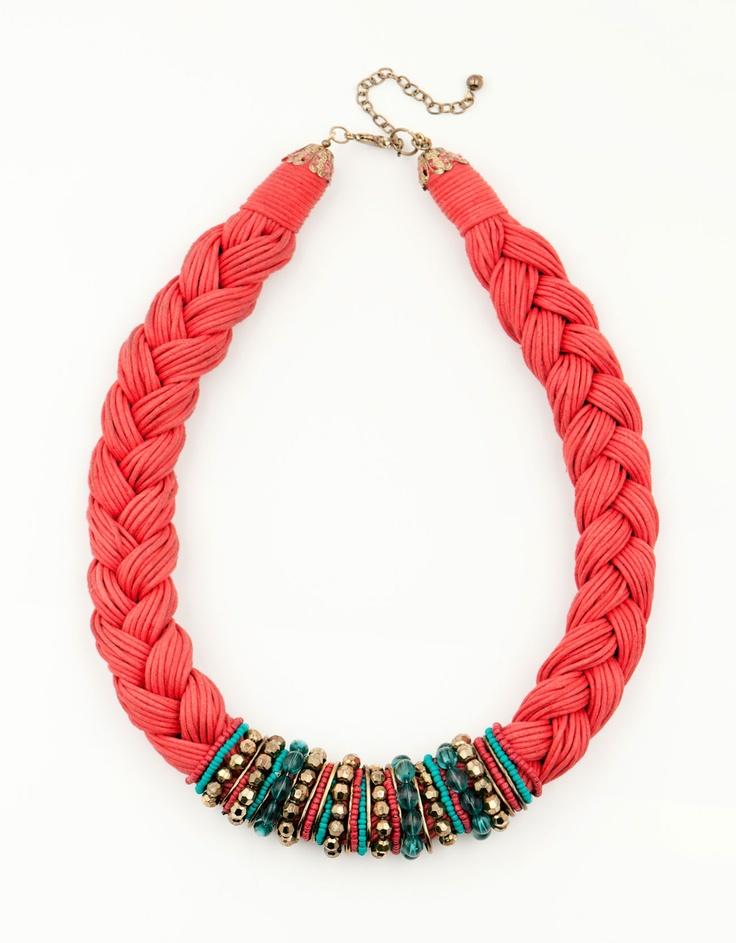 Bershka Romania - Braided necklace