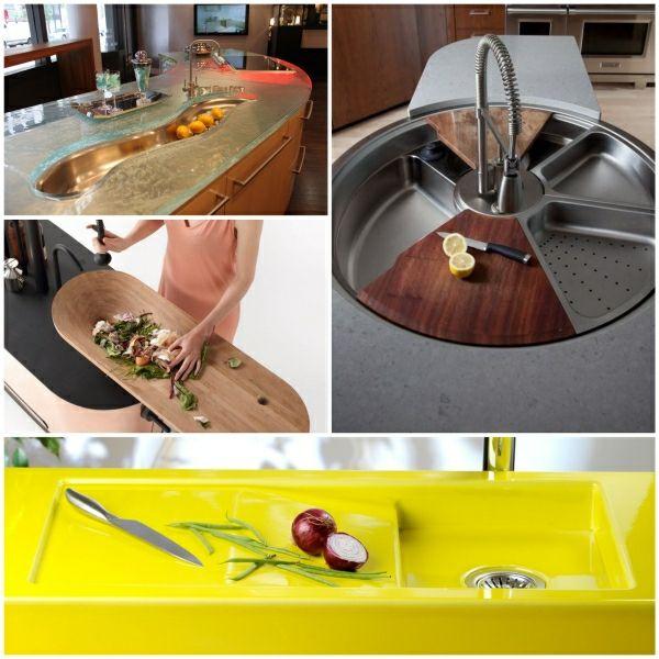 küchenspülbecken moderne waschbecken waschbecken design